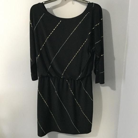 ccc07d17 White House Black Market Dresses | Worn Once Whbm Beaded Dress ...